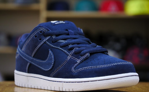 208ded52df74 Nike SB Dunk Low Pro  Midnight Navy White