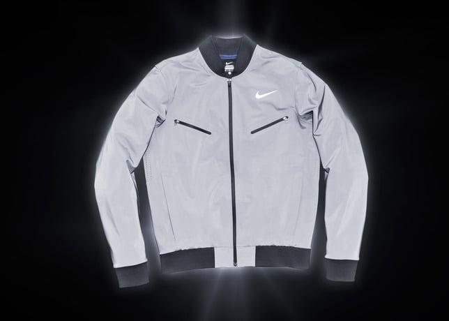 Nike Tennis Introduces Reflective Vapor Flash Jackets