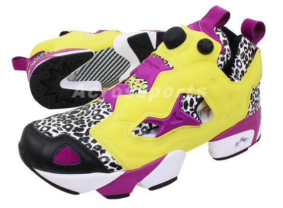 Reebok Insta Pump Fury Leopard Pack