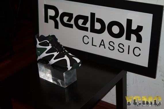 Reebok Kamikaze Black White Green