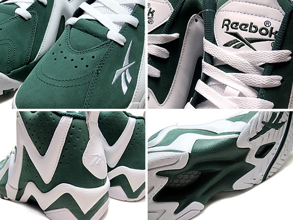 Reebok Kamikaze II Green White