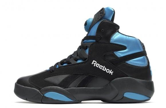 4df22f73d41a Reebok Shaq Attaq Retro Black Azure Blue Release Date