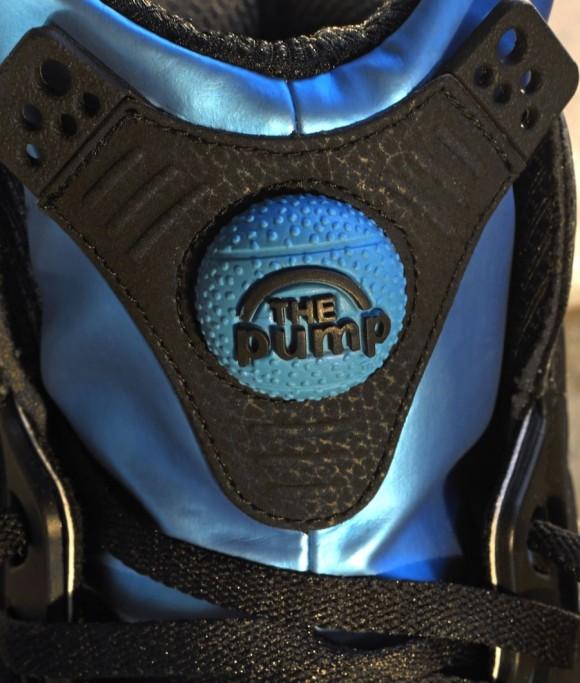 Reebok Shaq Attaq Retro Black Azure Blue Release Date