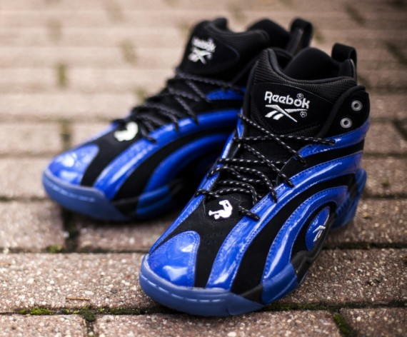 Reebok Shaqnosis Orlando Re stock at Bridge Footwear