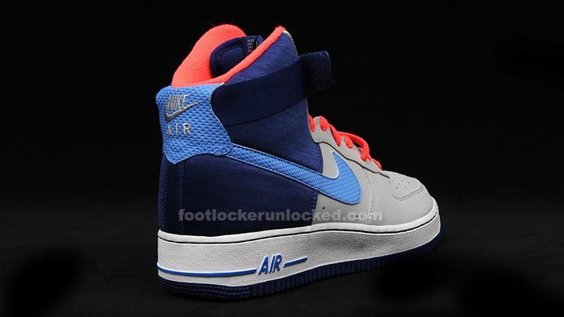 Nike Air Force 1 Alto Profundo Azul Real oGQtjJ5s
