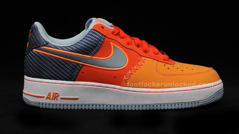 nike air force 1 team orange