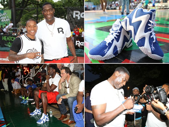 Shawn Kemp x Reebok Kamikaze II Letter of Intent at Rucker Event Recap