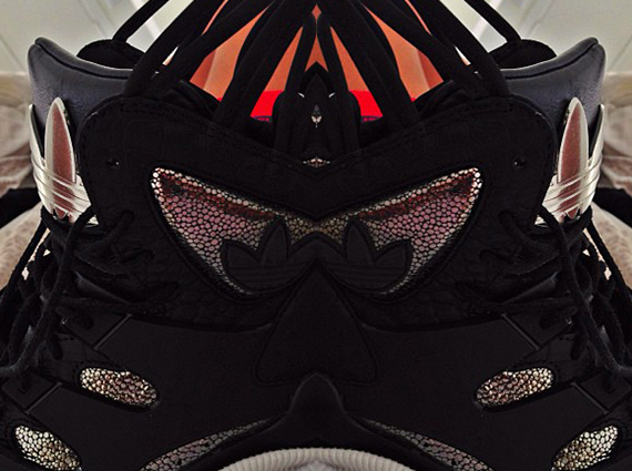 Teyana Taylor x adidas Orginals Harlem GLC Diary of a Dark Knight