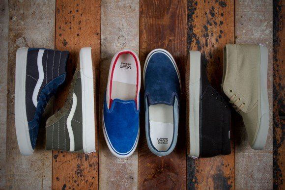 c5f01010b7 Vault by Vans x WTAPS OG Classics Collection for Fall 2013 ...