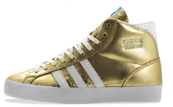 Adidas Basket Profi OG – Metallic Gold