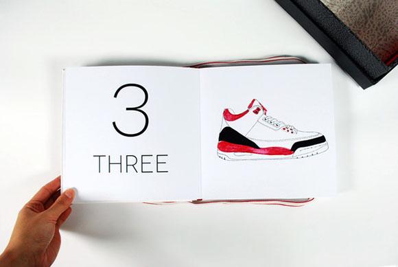 Air Jordan Counting Book