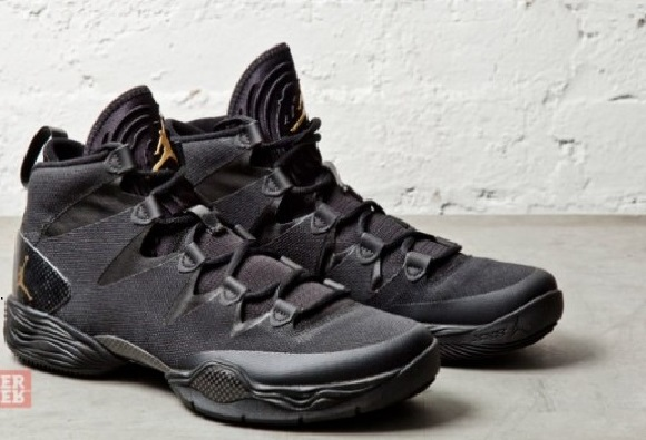 Air Jordan XX8 Lite Black/Metallic Gold - First Look