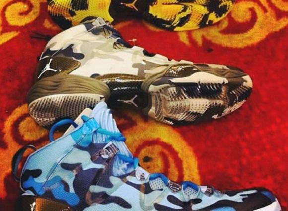 """Air Jordan XX8 Lite """"Camo Pack"""" – First Look"""