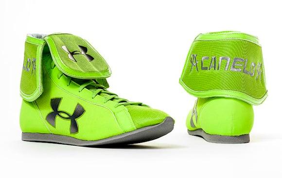 Canelo UA Boots