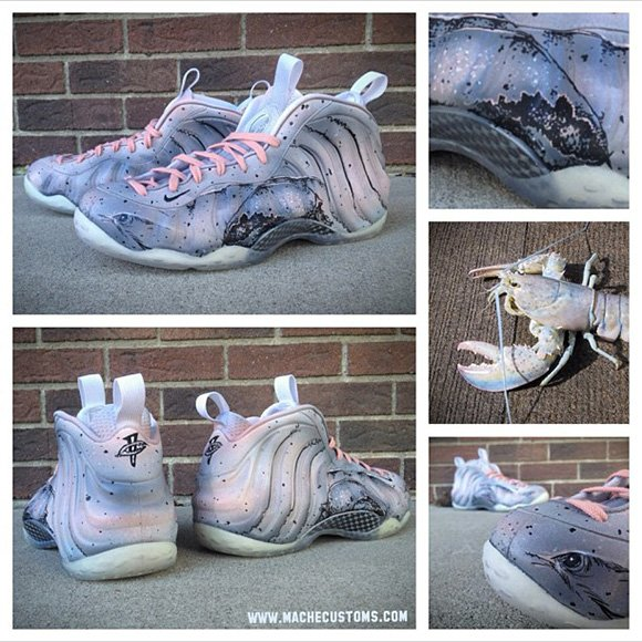 Mache White Lobster Foams
