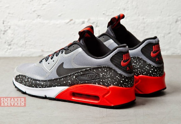 Nike Air Max 90 CMFT PRM Tape Grey Challenge Red New Release