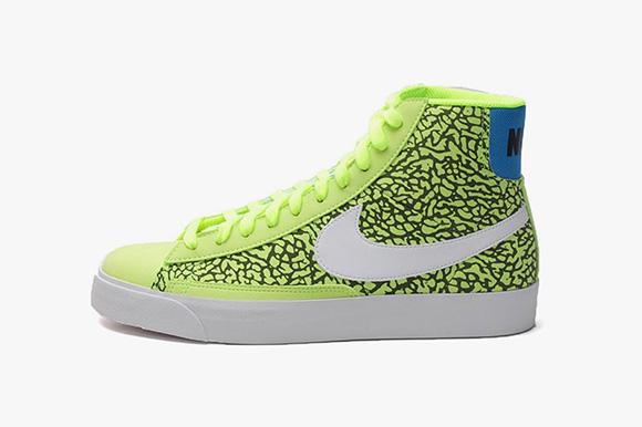 Nike Blazer Volt Elephant