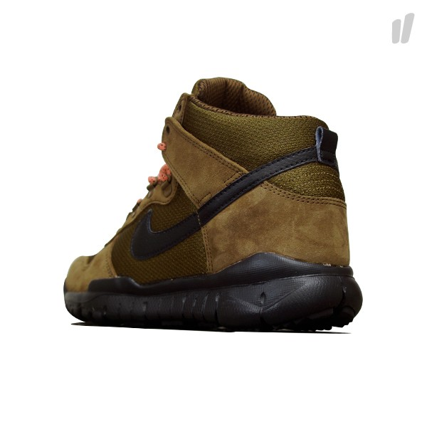 Nike Dunk High OMS Military Brown – First Look