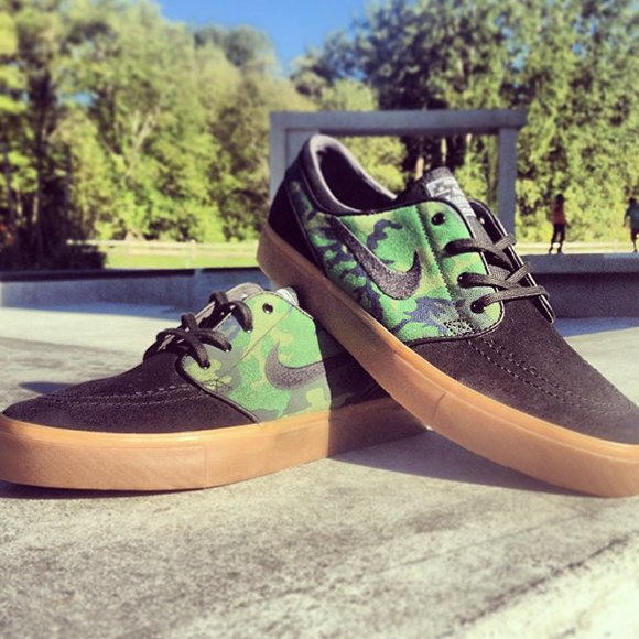 Nike SB Janoski Jungle Camo