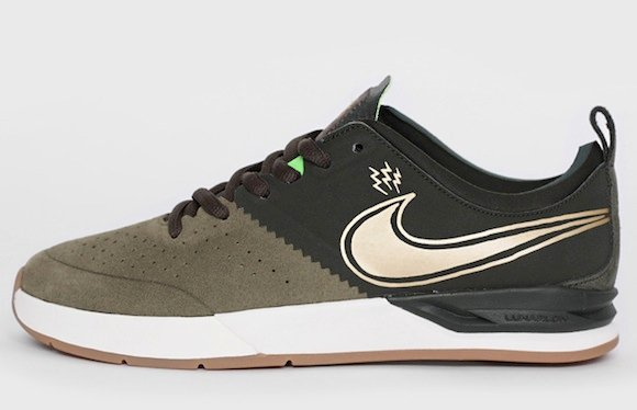 Nike SB Project BA Green Gold Now Available
