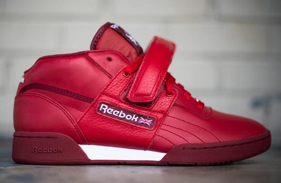 "Reebok Workout Mid Strap XE ""Red""   SneakerFiles"