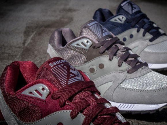 Saucony Grey Pack