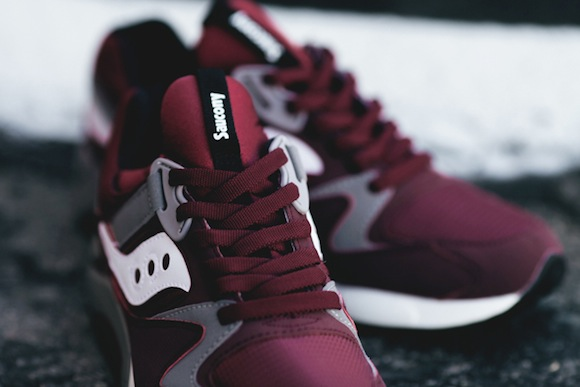 Saucony Grid 9000 Burgundy Now Available