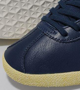 Adidas Gazelle Og Navy/White Leather Trainers