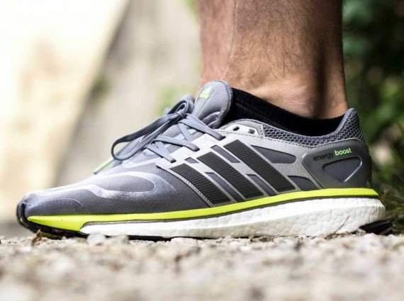 adidas Energy Boost Tech Grey Electricity Now Available