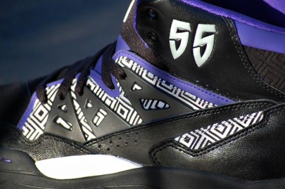 brand new 1a442 33e45 60%OFF adidas Mutombo Black Purple Red   New Images