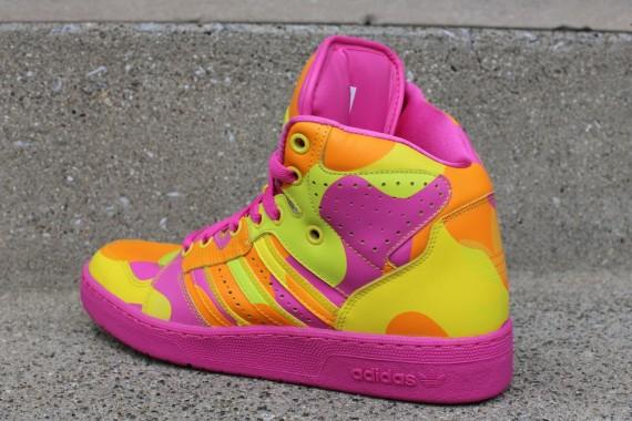 adidas Originals JS Instinct Hi Neon Camo Now Available