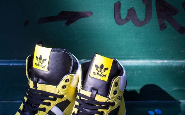 Adidas Originals pro Conferencia Hola vive amarillo