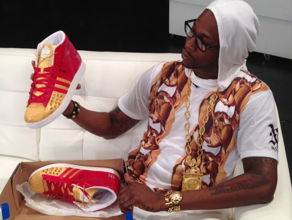 adidas Pro Model for 2 Chainz by Mache Customs