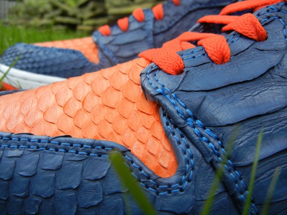 Air Jordan 1 Knicks Python by JBF Customs