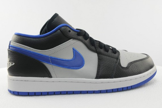 Air Jordan 1 Low Black White Game Royal