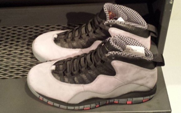 Air Jordan 10 Cool Grey Infrared Black Another Look