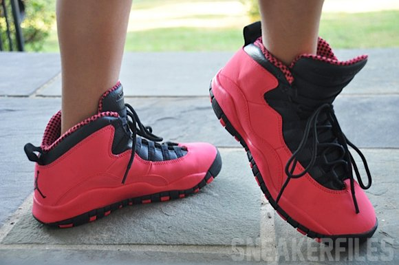 air jordan 10 retro red