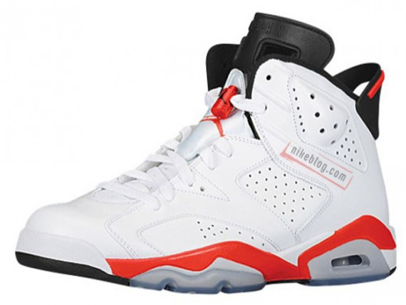 Air Jordan 6 White Infrared 2014 Retro