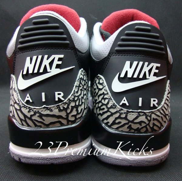 2480739741e2f0 Air Jordan III (3)  88 Retro  Black Cement  Sample