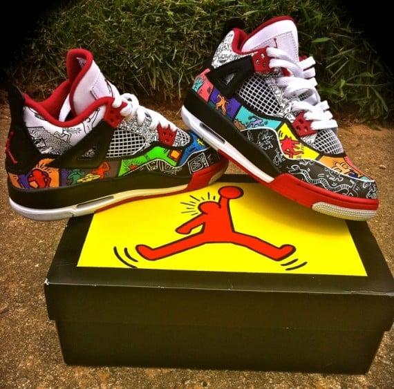 Air Jordan IV Keith Haring by District Customs