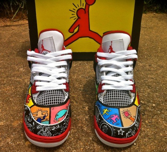 Air Jordan IV Keith Haring by District Customs