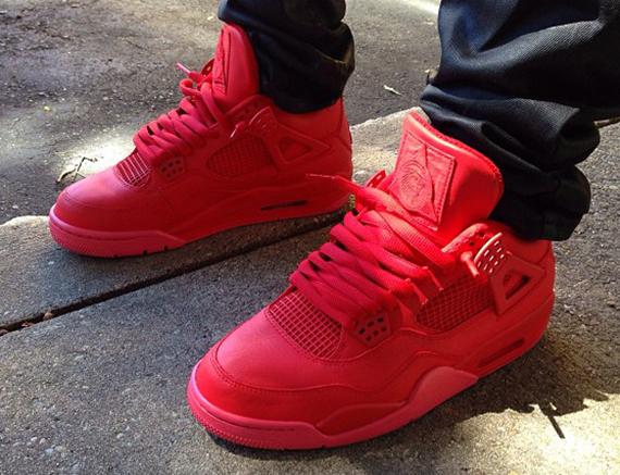 Air Jordan IV Red October by Noldo Customs