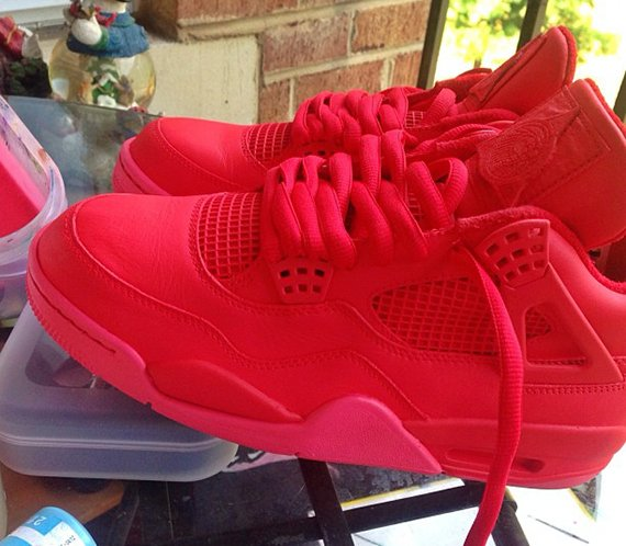 Air Jordan IV Red October by Noldo Customs