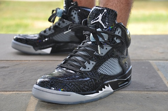 Air Jordan V 5 Doernbecher On Feet Images