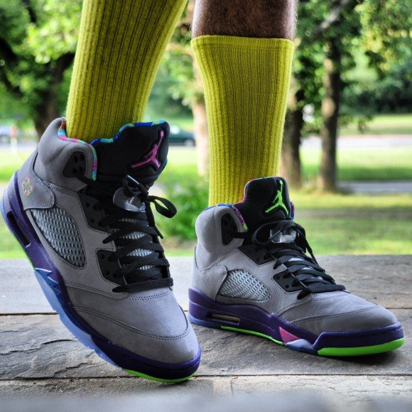 Air Jordan V Bel-Air On-Feet Images