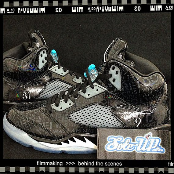 Air Jordan V Doernbecher Another Look