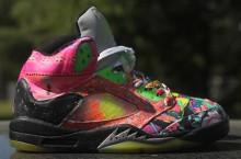 "Air Jordan V ""Prince of Fresh"" Customs by Rocket Boy Nift"