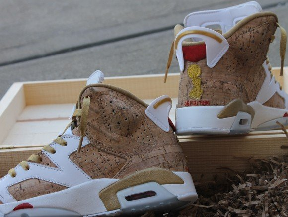 Air Jordan VI 1st Ring Customs by fbcc