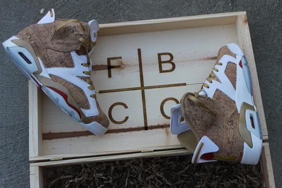 Air Jordan VI 1st Ring Customs by fbcc