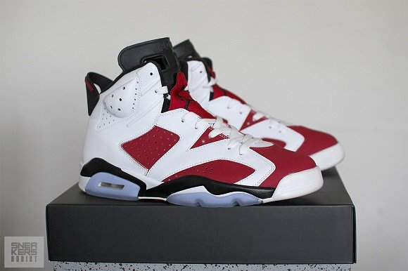 Air Jordan VI 6 Retro Carmine 2014 Release First Look